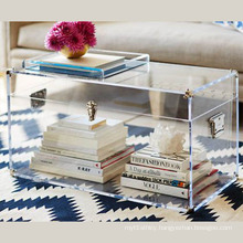 Pop Acrylic Books Display Box with Best Price