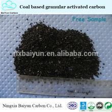 угля на основе гранулированного активированного угля для продажи в качестве живого очистки воды