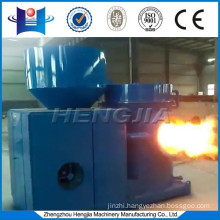 Biomass wood pellet burner replacing of oil/ gas burner for hot water boiler