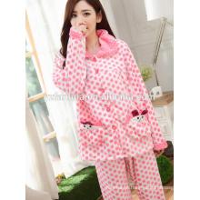 inverno quente desgaste pijama para mulheres