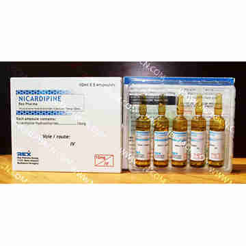 Antihypertensive Nicardipine Injection