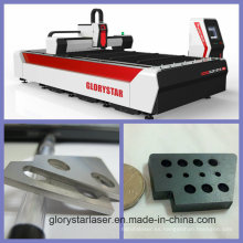 Glorystar 2015 nueva máquina de corte de láser de metal de fibra de diseño