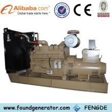 Tipo aberto Genset diesel 600kw