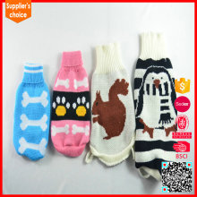 New fashion pet unique custom computer knit dog sweater