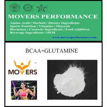 Hot Sell Bodybuilding Sport Nutrition Bcaa + Glutamin