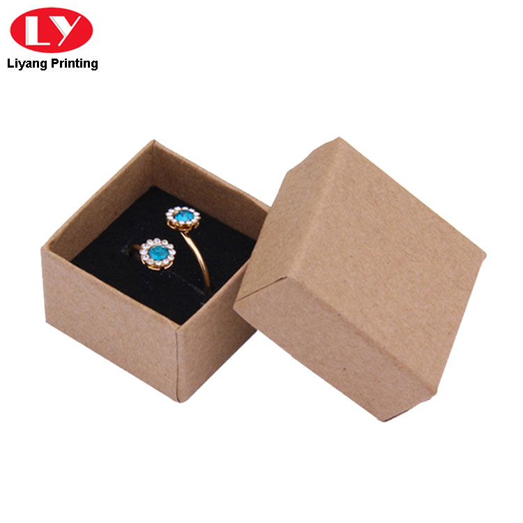 Ring Box Brown Color
