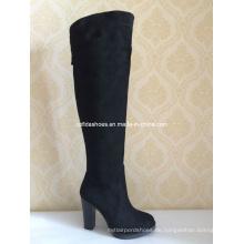 OEM Komfort Elegante High Heels Frauen Winter Stiefel