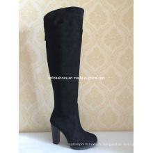 OEM Comfort Elegant High Heels Femmes Bottes d'hiver