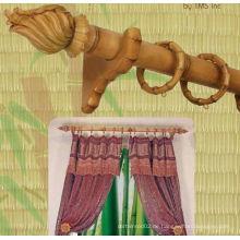 Küchenfenster Einzel Bambus Holz Vorhang Rod Set