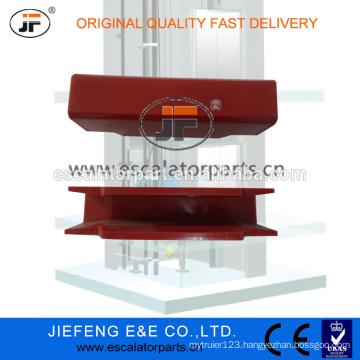 JFMitsubishi Elevator Guide Shoe Linner (Red),120*16mm