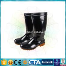 Классические ботинки дождя блестящие сапоги дождя