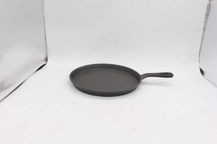 Cast Iron Round Flat Pan