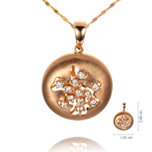 18K Gold Necklace with Diamond