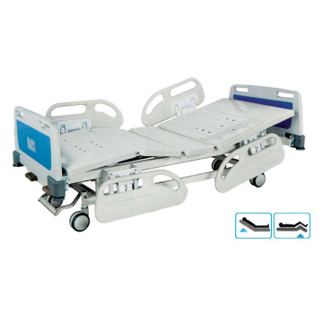 Cama de hospital manual full-fowler