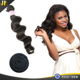 2015JP hot sell 100% unprocessed human virgin brazilian loose wave hair