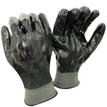 NMSAFETY anti travail de pêche de l'eau utilisent des gants de travail en nitrile enduits
