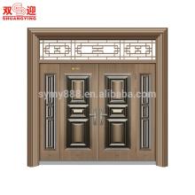 Main entrance doors design steel tempered front door designs