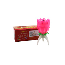 Export Indian Market Single Blütenblatt Party Kerze