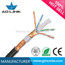 New PVC Jacket SFTP cat 6 out door lan cable Price