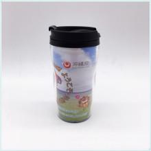 FDA Standard 12oz, 16oz, 20oz PP wiederverwendbare Kaffeetasse mit Deckel, 100% BPA
