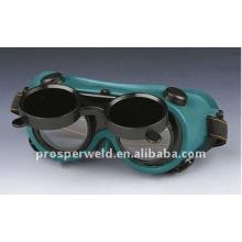 Ajustável mais vendido PVC óculos de segurança