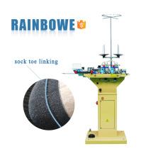 QY-181 meias retas máquina de costura para meias toe ligando