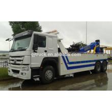Volante a la derecha Sinotruk HOWO camión de auxilio / vehículo de remolque de camino / camión de auxilio / grúa / remolcador / grúa HOWO