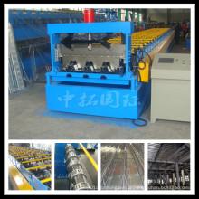 Aprovado CE e ISO aço estrutura Material piso Deck Máquina Perfiladeira