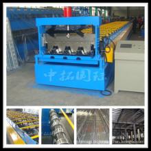 Aluminium Blech Boden Belag Roll Formmaschine
