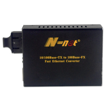 Single Fiber Media Converter Untuk Transmisi Data