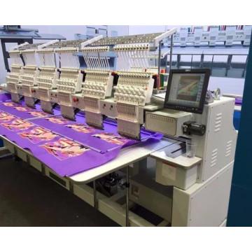 Компьютеризировала машину вышивки 9 игл с 6 головная машина вышивки