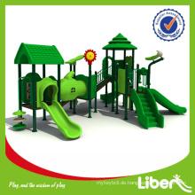 Fabrik Preis GS-zertifiziert Outdoor Kinder Spielplatz Ausrüstung der Holz Serie LE.SL.009
