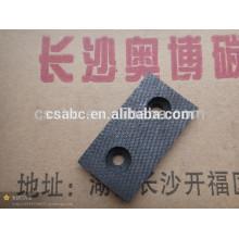 Materiais compostos de fibra de carbono de alta temperatura