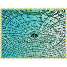 Leichtes Stahl-Raum-Dach-Fachwerk-Metall-Dach-Gebäude