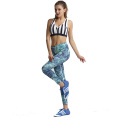 Benutzerdefinierte Sexy Supplex Lycra Yoga Wear für Frauen