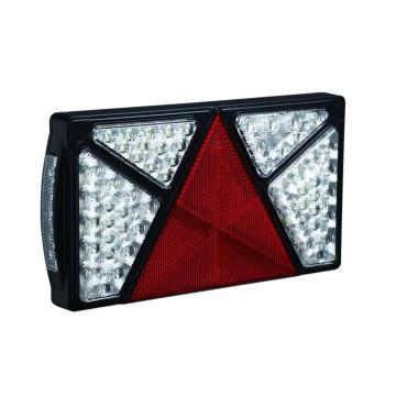 Emark 10-30V LED Gabungan Trailer Tail Lamps