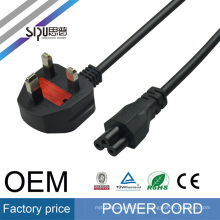 SIPU high quality uk BS cord stranded copper ac power cable for PC