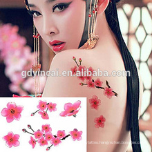 New fashion, reasonable price sticker tattoo supplies
