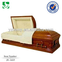 JS-A623 fine polished wooden caskets