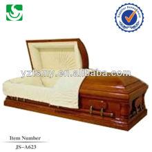 JS-A623 bem polidos caixões de madeira