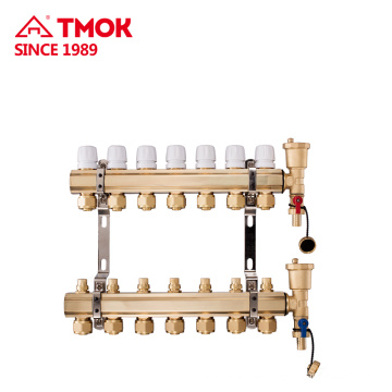High quality Brass color Manifold