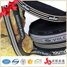 Custom jacquard weaving elastic band nylon spandex tape