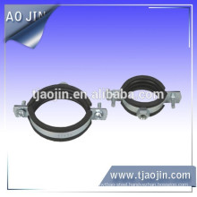 steel clamps with rubber cushion