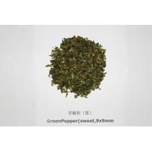 Dried Green Bell Pepper