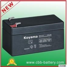 Koyama 12V1.3ah Valve Regulated Lead Acid Batteries for Emergency Lighting