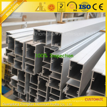 Powder Coated Aluminium Extrusion Curtain Wall Profile