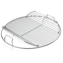 tragbarer Grillrost aus rostfreiem Stahl, rundes Grillgitter