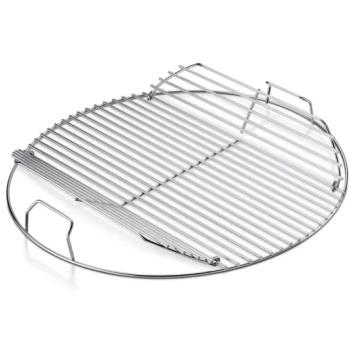Grille de gril ronde de grille de barbecue portable en acier inoxydable