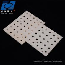 plaque en céramique résistante à l'usure pour la combustion