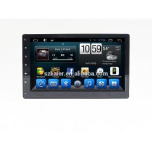 Quatro núcleos! Dvd do carro do andróide 6,0 para o reprodutor de DVD univeral do carro com a tela capacitiva de 10 polegadas / GPS / relação espelho / DVR / TPMS / OBD2 / WIFI / 4G